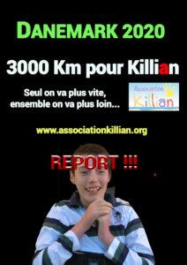 Report défis Killian 2020 3000Km