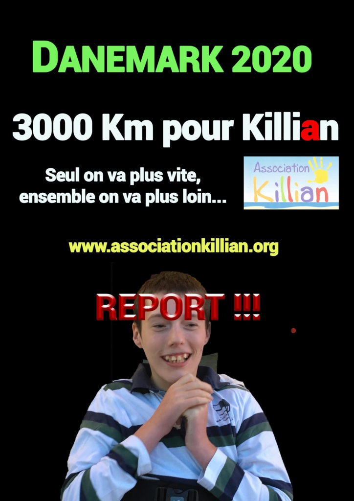 Report défis Killian 2020 3000Km